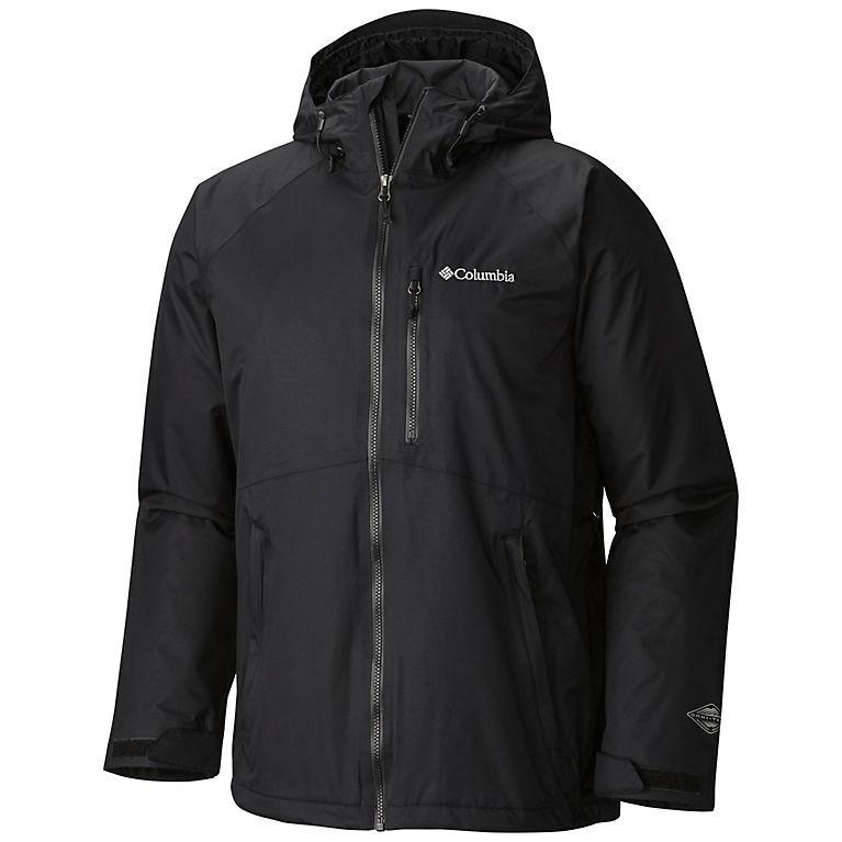 【現貨在台】Columbia 哥倫比亞 男生 防水外套 黑色 M號 全新 Winter Park Pass™ II