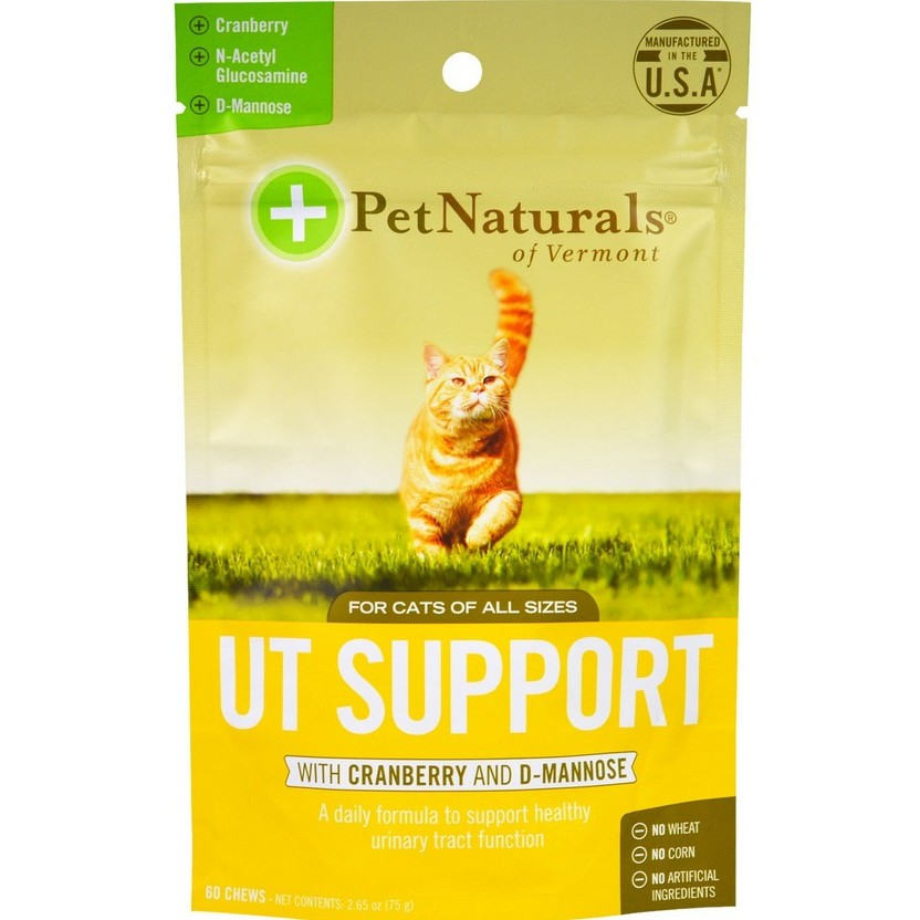 貓咪泌尿道保健零食Pet Naturals UT Support for Cats 60