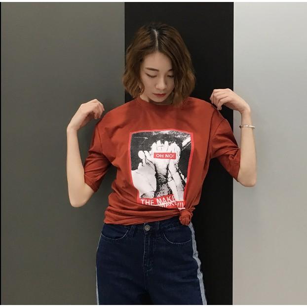 Oh no 短袖T 恤
