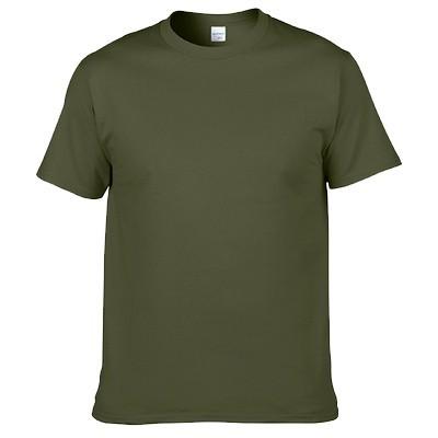 貨美國棉T GILDAN 76000 軍綠色素色T 男女短T 素面素T 圓筒T 簡約風30