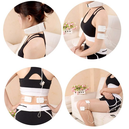 頸椎按摩器頸部家用全身多 棒牽引腰部脖子背部肩部腿部按摩儀