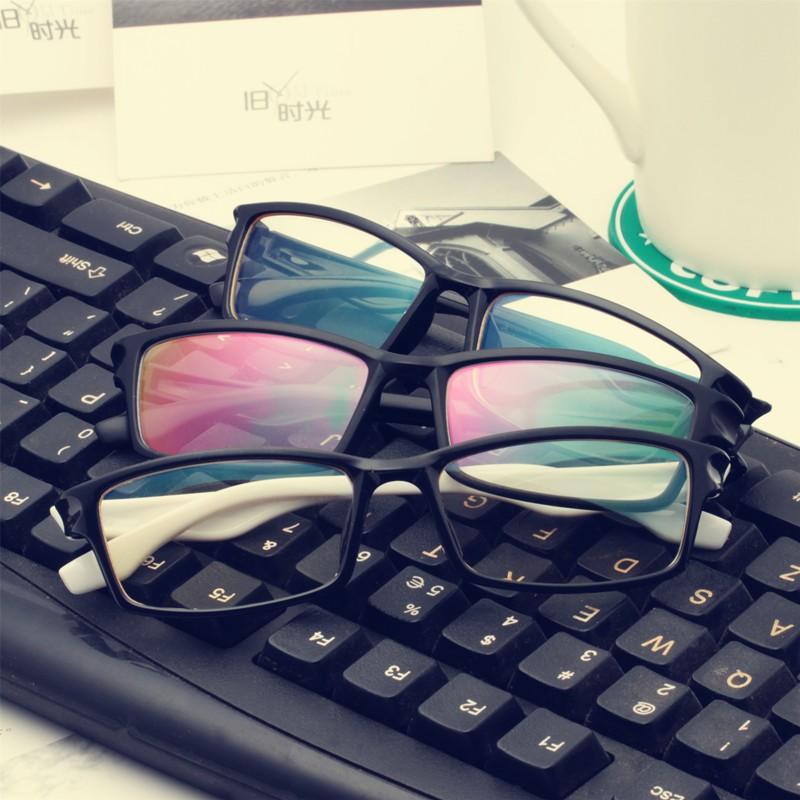 防輻射眼鏡平光眼鏡電腦護目鏡無度數男女潮眼鏡框防藍光電競眼睛