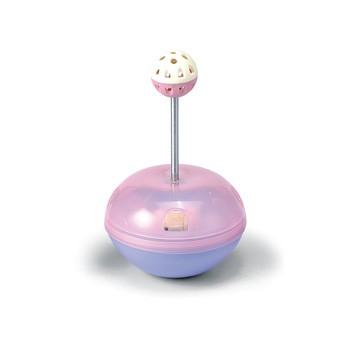 皇冠ACE PET 不倒翁搖擺球貓撞台鈴噹球中球貓玩具,內可裝零食互動#6922 BLD
