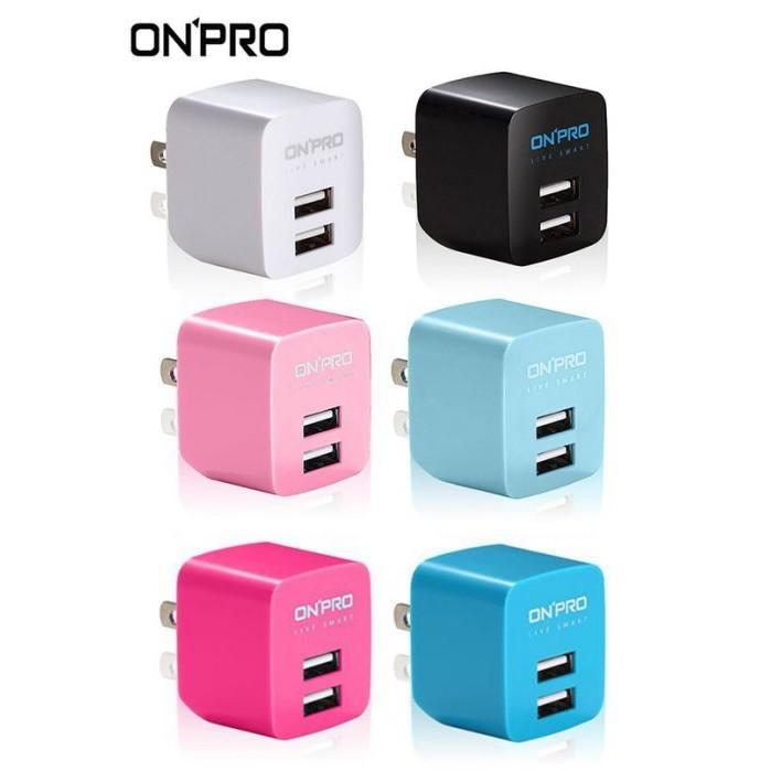 ~韓元素╭~ONPRO 2 4A 雙輸出高性能AC 轉USB 充 ~六色~雙孔充電頭