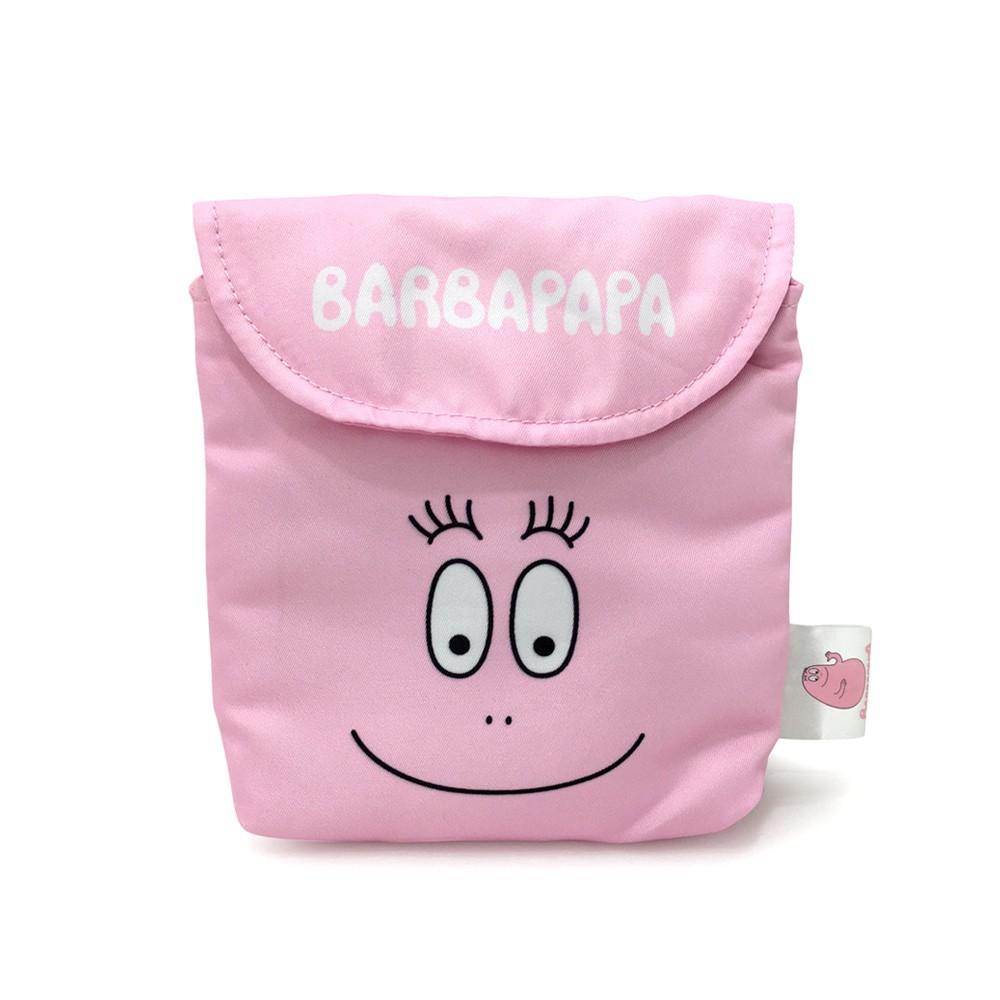 NORNS ~泡泡先生生理包掀蓋型大臉款~ Barbapapa 隨身包衛生棉包衛生紙萬用包