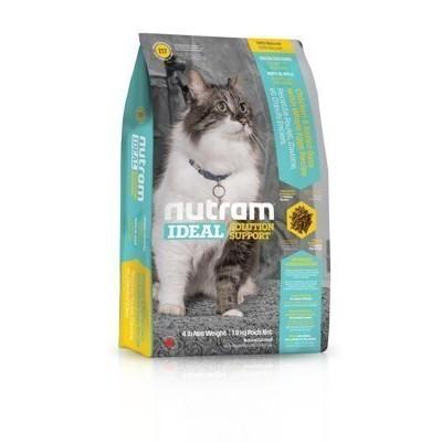 ~送主食罐~紐頓~I17 ~室內貓化毛~雞肉燕麥~nutram 理想系列,加拿大nutra