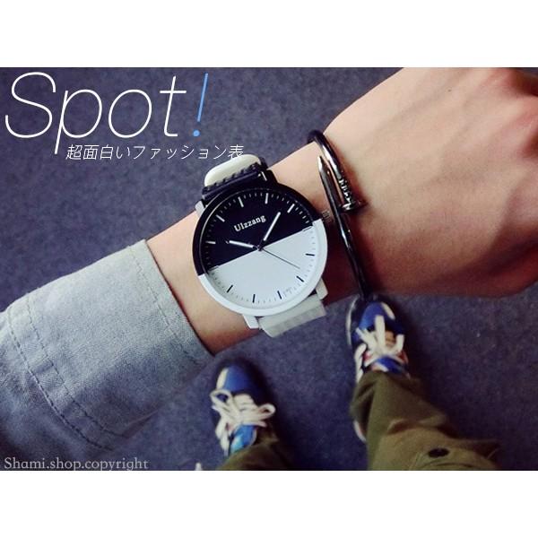 ~WA715 ~ 師 !黑白 拼接 百搭手錶對錶男錶女錶生日聖誕 潮流尾牙贈品