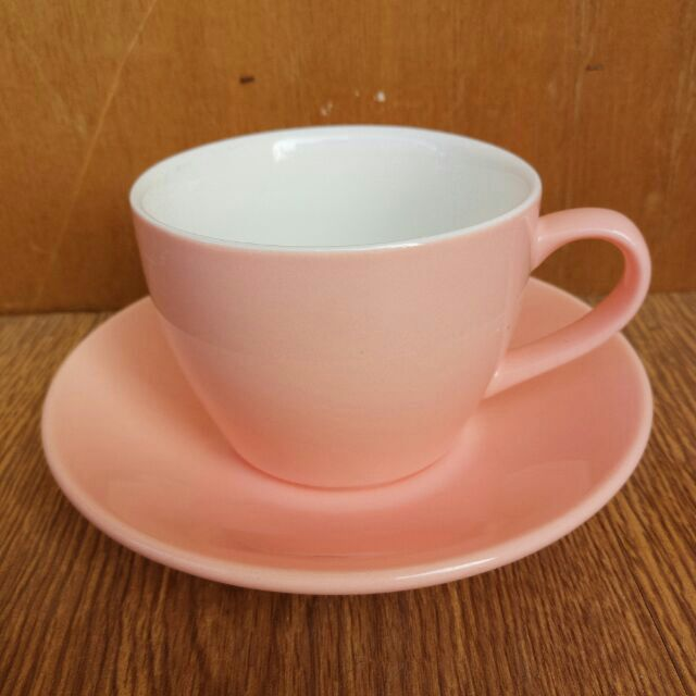 粉色馬卡龍拉花咖啡杯色釉咖啡杯咖啡杯馬卡龍系列 拿鐵杯卡布奇諾杯WBC 比賽指定杯230m