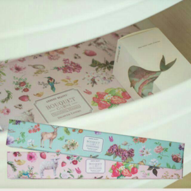 韓國療癒Bouquet Garni 衣櫥抽屜香香紙芳香除臭
