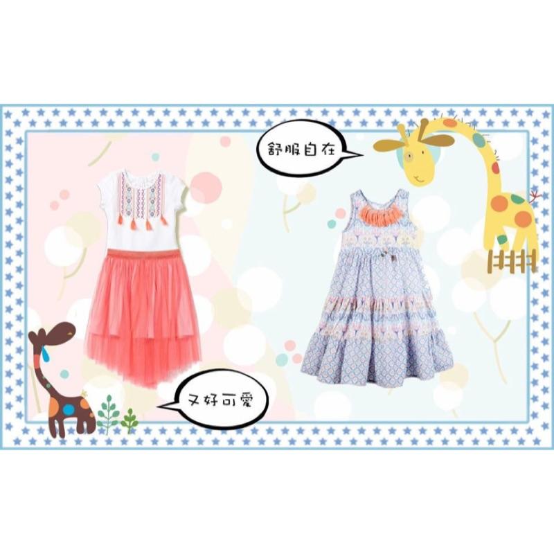 [紐牛媽的 跳蚤市場] 澳洲Cotton on 粉紅細紗裙