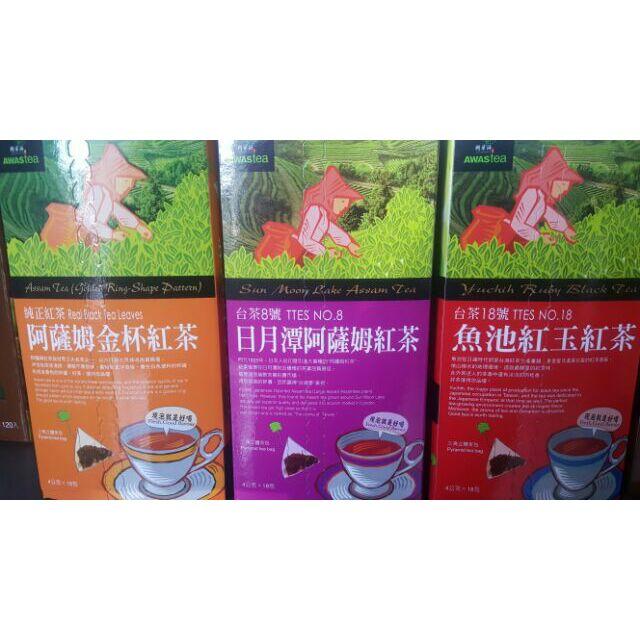 阿華師阿薩姆金杯紅茶日月潭阿薩姆紅茶魚池紅玉紅茶4g 18 入盒輕鬆旅行組100 10 1