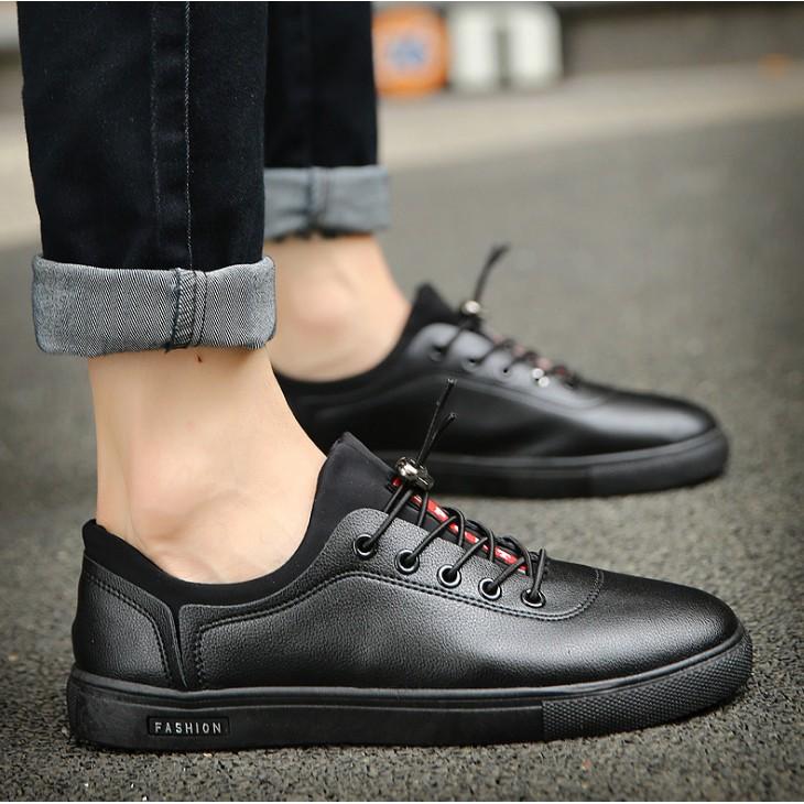 2016  潮鞋男士休閒皮鞋加棉布洛克雕花男鞋男士加絨板鞋