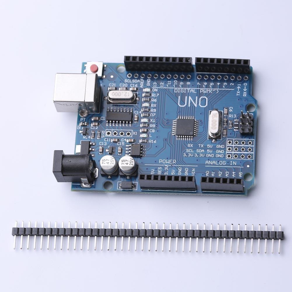 CH340 UNO R3 ATmega328P Mini USB 板用於兼容的Arduin
