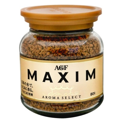 ~Fun3 ✾日貨~~ AGF MAXIM 箴言金咖啡、香醇摩卡、華麗香醇咖啡粉80g