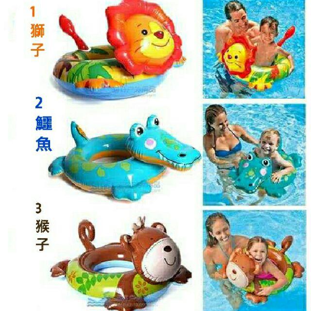 小孩兒童充氣游泳圈寶寶救生圈嬰幼兒腋下圈泳圈浮圈