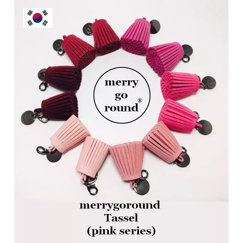 Ls Factory  款MGR 粉紅系流蘇韓國空運100 正韓純 吊飾婚禮客製化訂製