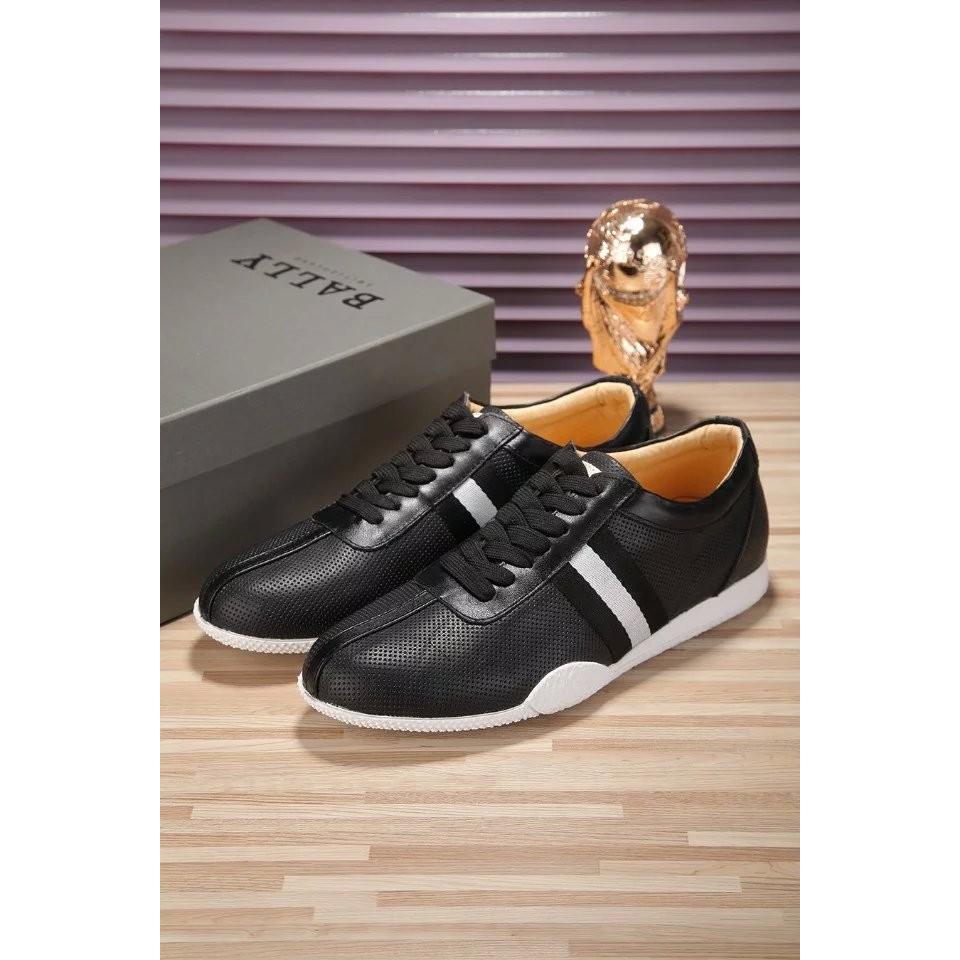 Bally 單鞋套腳鞋豆豆鞋休閒 鞋男士休閒鞋皮鞋潮流鞋籃球鞋休閒鞋皮鞋男鞋懶人鞋BALL