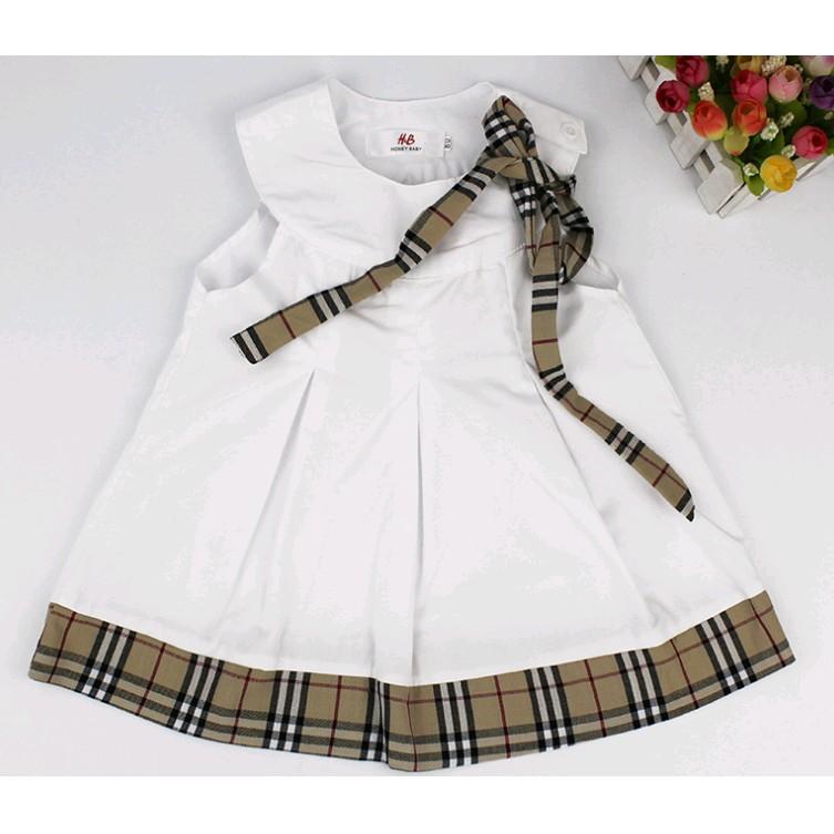 ~雙打媽咪~超氣質白色英倫連身洋裝無袖洋裝女寶寶寶 百元 蕾絲洋裝小洋裝