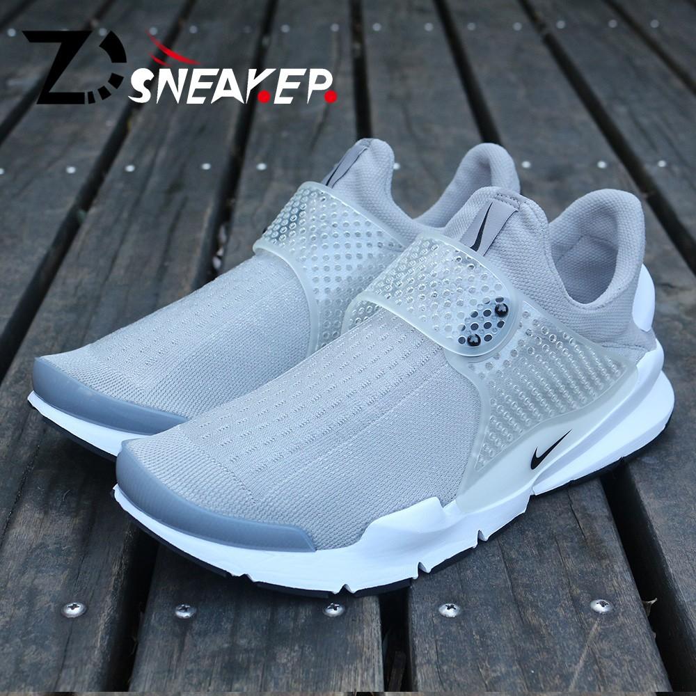 ~ 大 ~Nike Sock Dart Triple Black  灰白襪子跑步鞋