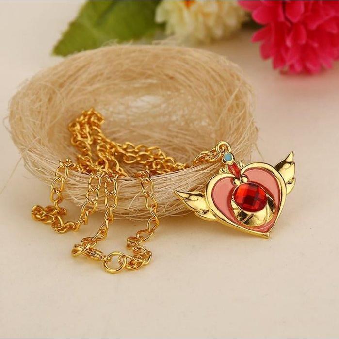 ~莓莓小舖~ 動漫飾品風格美少女戰士項鍊