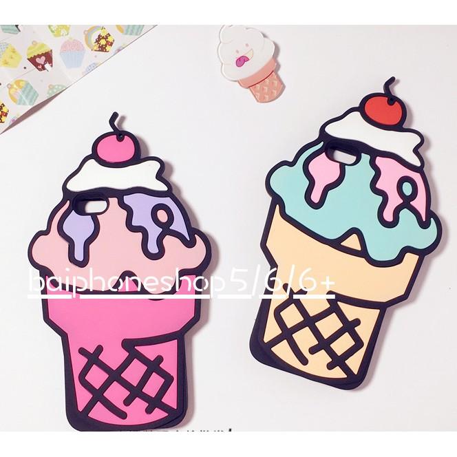 iphone5 6 7 6plus 7plus 甜筒冰淇淋iphone 手機殼保護殼