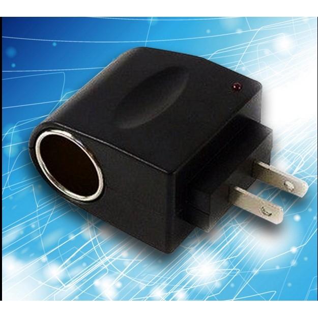 點煙器家用汽車點煙器插頭電源轉換器110v 220v 轉12V 家用電源