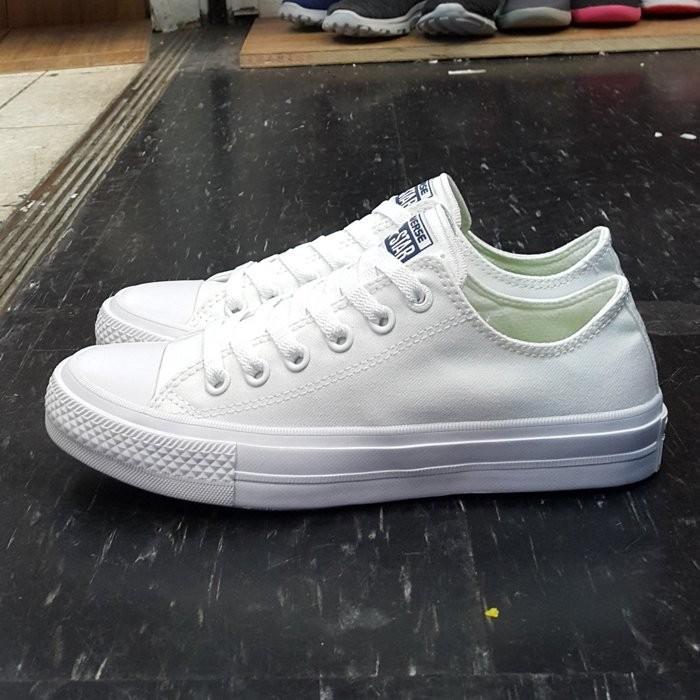 Converse All Star II 2 帆布鞋低筒氣墊 終極版 匡威男女鞋情侶鞋帆布