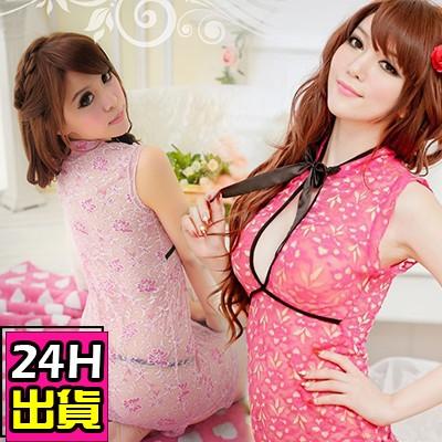 蝶后 中式露乳性感旗袍中國風成人遊戲角色扮演情趣 酒店公關制服D804