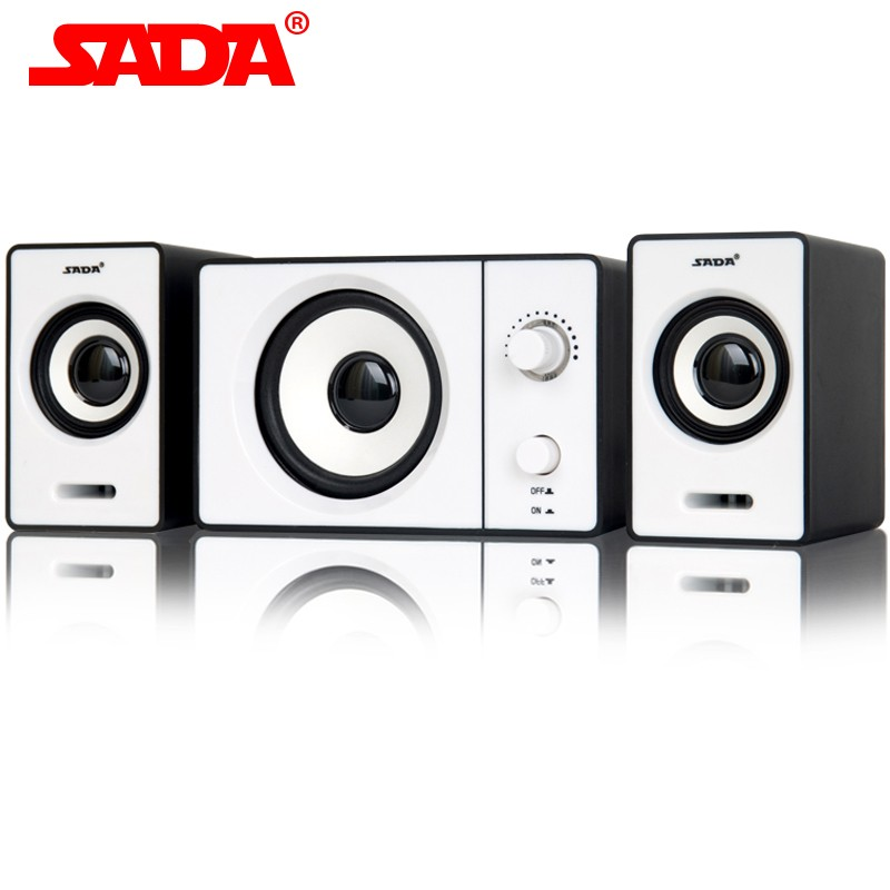 SADA D 200D 賽達多媒體電腦音箱筆記本迷你小音響2 1 低音炮USB
