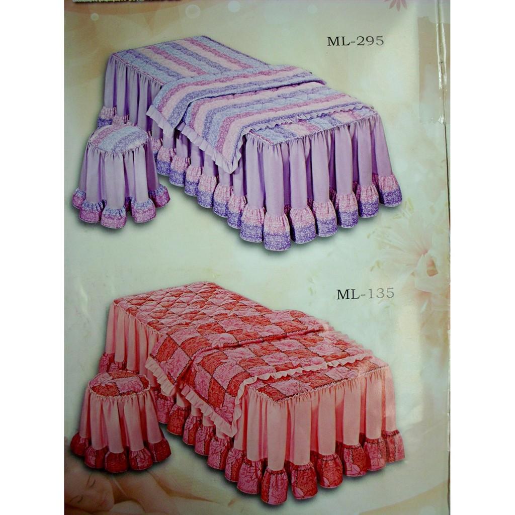 美容床單床罩、可訂製尺寸規格美容床油壓床 絲質1800
