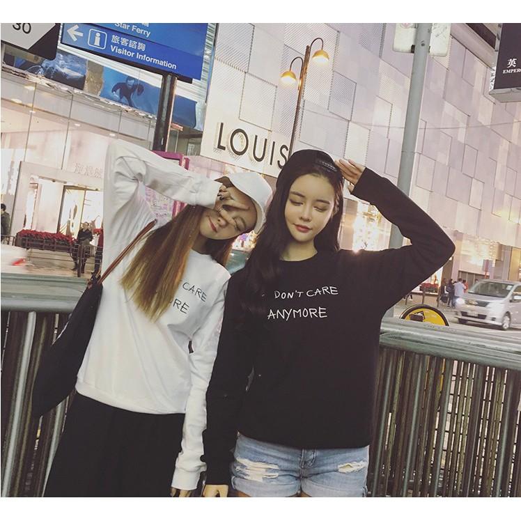 ◆韓國加絨套頭閨蜜裝外套字母印花寬鬆顯瘦上衣女裝手槍衛衣
