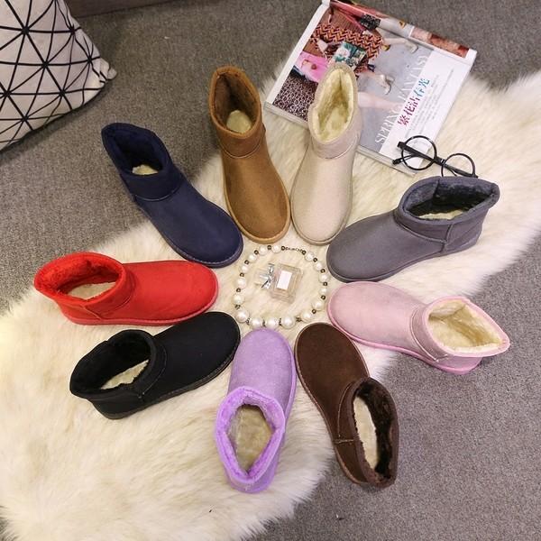 Next We1k 冬天暖暖短版雪靴36 40 碼10 色