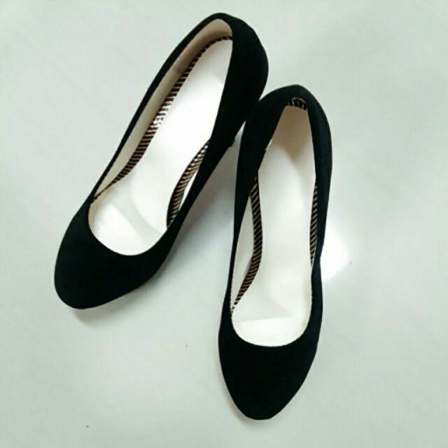 101 015 高跟鞋防水台性感細跟女單鞋淺口超高跟女鞋黑色39