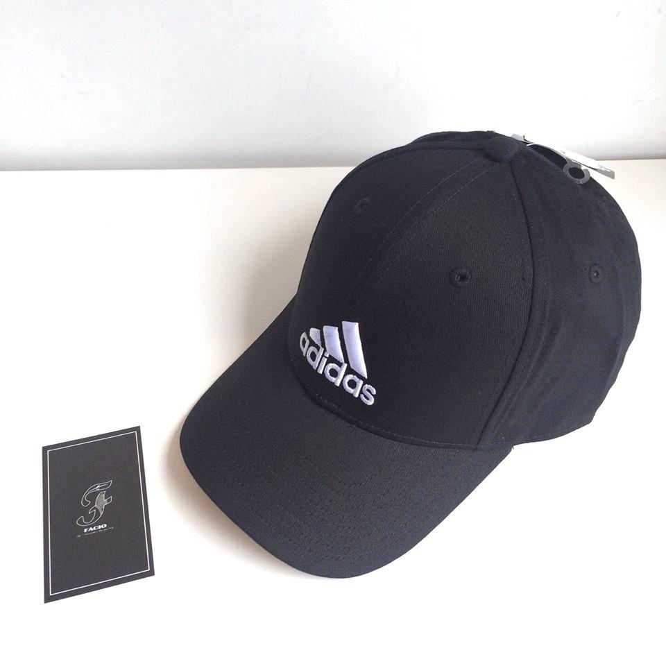 ~FACIO 桃園~ADIDAS PERF CAP CO 電繡Logo 雙色黑白黑色白色復
