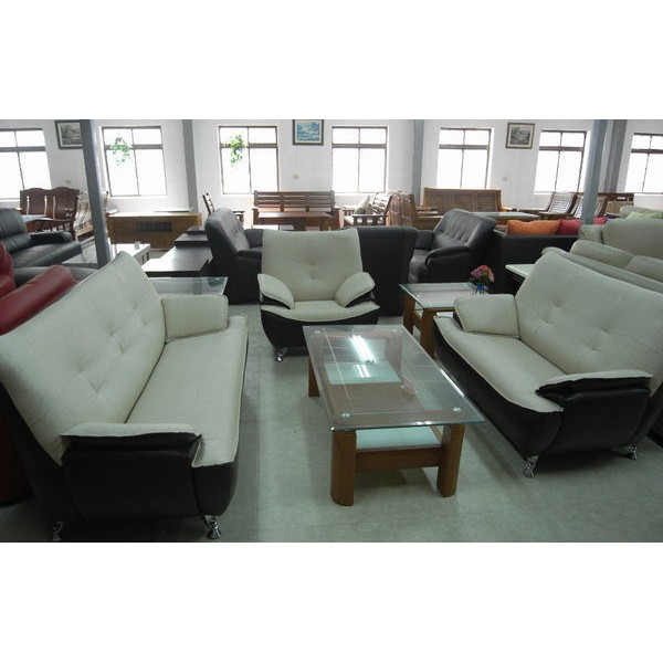 ~新 ~SA 16 乳膠皮1 2 3 雙色沙發組 可訂色大台中一律K2
