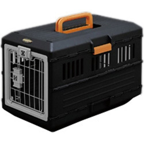 COCO ~限貨運配送免 ~ IRIS 可折疊航空運輸籠黑色FC 550 小型犬用外出提籠