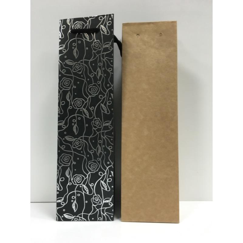 單瓶酒袋手提袋紙袋
