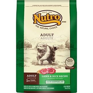 美士~羊肉米~大顆粒成犬配方,Nutro 美士狗飼料成犬飼料