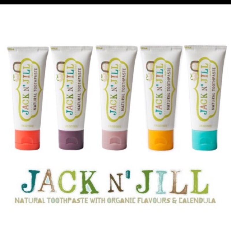 JACK JILL 金盞花天然牙膏
