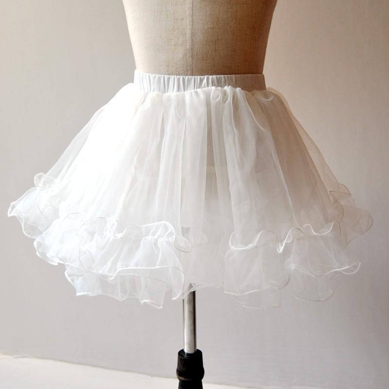 ~ ~兒童禮服紗裙半身裙蓬蓬裙公主襯裙半身裙CB5122BA