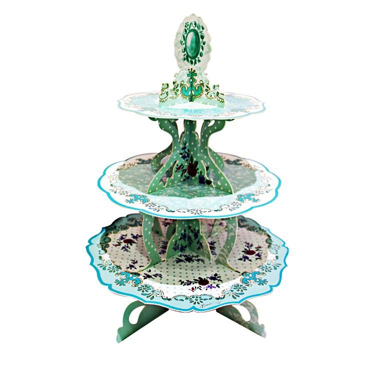 英歐式下午茶三層點心盤蛋糕架杯子蛋糕派對野餐、生日派對、婚禮場地佈置之 品
