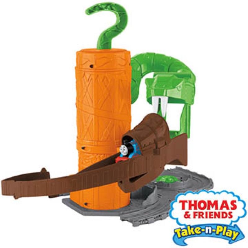 湯瑪士帶著走系列綠蟒驚險軌道遊戲組