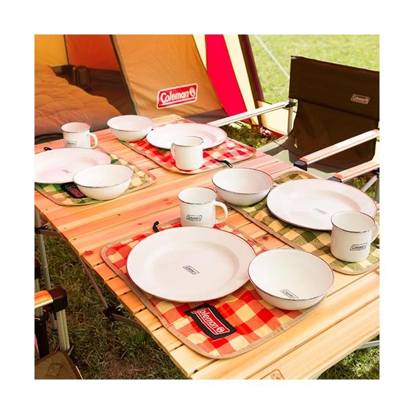 *日貨盒子* 嘉義門市 日本 代購 Coleman 餐具 套裝組 碗 盤子 杯子 收納袋 野餐 戶外 露營 休閒
