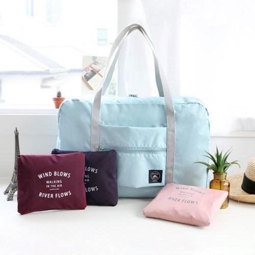 手提旅行包拉桿包行李袋旅行收納袋大容量單肩包防水折疊袋可折疊大容量旅行袋