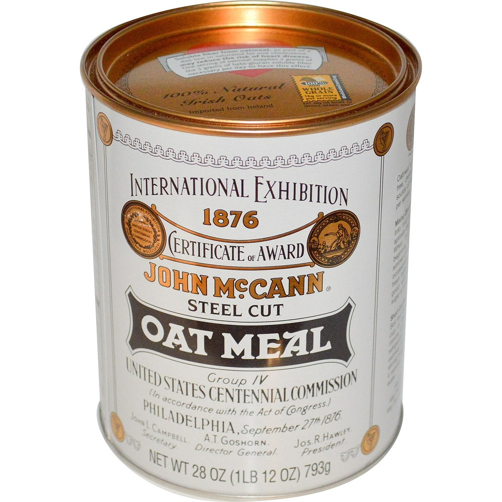 愛爾蘭燕麥鋼切燕麥針頭麥片McCann s Irish Oatmeal Steel Cut