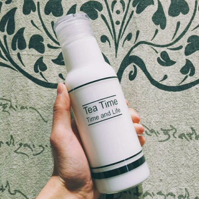 韓國Tea Time 學生便攜牛奶可樂汽水飲料玻璃瓶