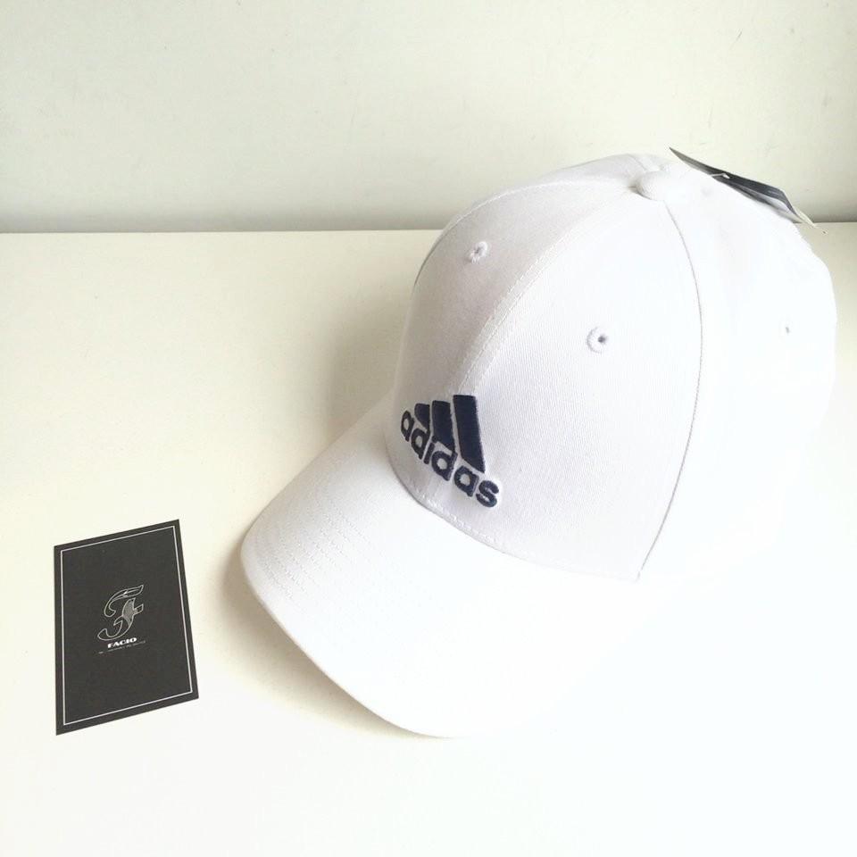 ~FACIO 桃園~ADIDAS PERF CAP CO 電繡Logo 雙色白藍白色紅色藍