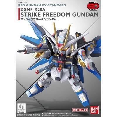熊兔玩具SD GUNDAM 006 ZGMF X20A STRIKE FREEDOM 攻擊