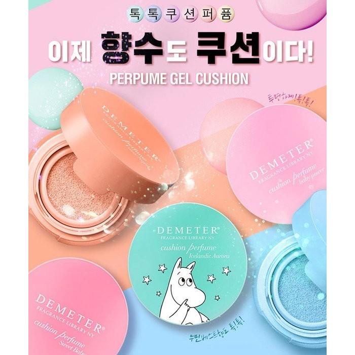 韓國Moomin 嚕嚕米 款氣墊香水