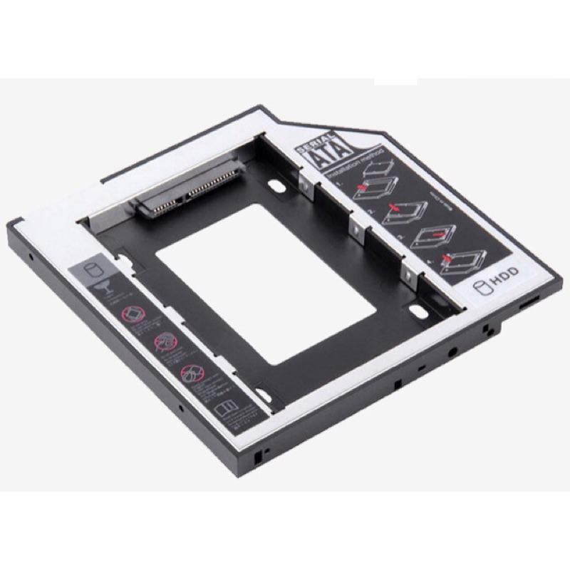轉接筆電改ssd 9 5mm 12 7mm 光碟機位硬碟托架含光碟機外接盒
